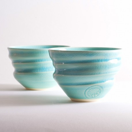 ROYAL KYOTO Crystal Blue Free Cup Set (2cups)