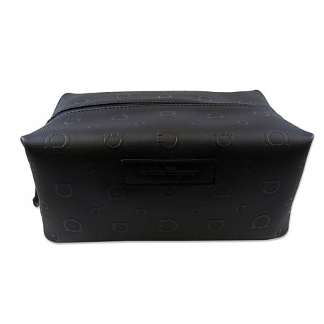 Ferragamo - Mens - Gancio -Dopp Kit (Black 523136)