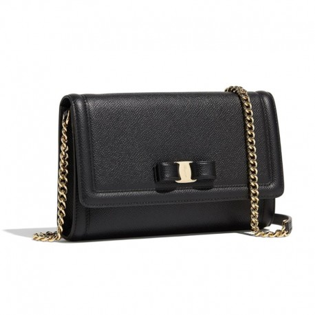 Ferragamo - Womens - Vara Mini Bag (Black 675575)