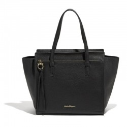 Ferragamo - Womens - Large Tote Amy (Black 612615)