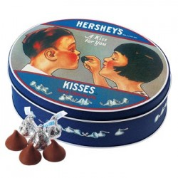 HERSHEY'S Kisses Chocolate 5 Can Set