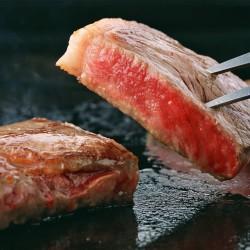 京都大橋亭「京の肉」サーロインステーキ