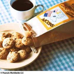 スヌーピーマカデミアナッツチョコチップクッキー3袋セット