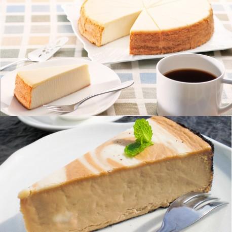 New York Cheesecake & New York Cheesecake Cappuccino Set