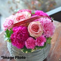 Pink Flower Arrangement (Mothers Day)