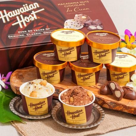HAWAIIAN HOST Macadamia Nuts Chocolate Ice Cream (JUN~AUG)