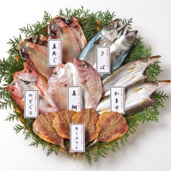 Kyushu Dried Fish & Seafood Set