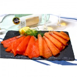 Canadian Wild Smoked King & Sockeye Salmon Set