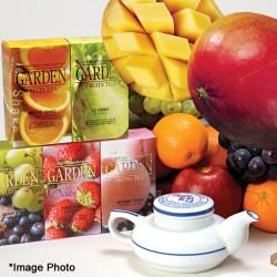 アムシュ・紅茶10種と季節のマンゴー