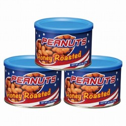 Honey Roasted Peanuts 3 Cans