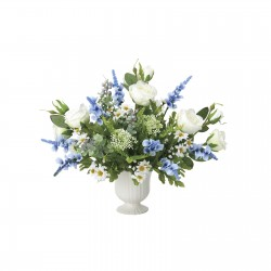 Photocatalyst Blue & White Arrangement