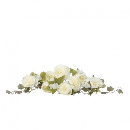 Photocatalyst White Large Rose Swag