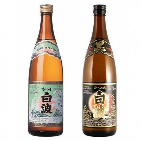 SHIRANAMI & KUROSHIRANAMI Shochu Set