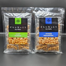 Dry Natto 10 Pack Set (Plain & Wasabi)