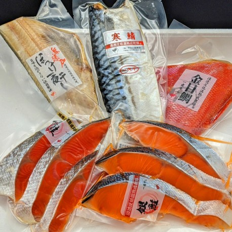 Premium Dried Fish Set (5 Kinds)