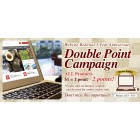 Double Point Campaign until 9/15!!