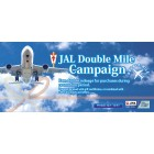 JAL Double Mile Campaign until 12/31!!